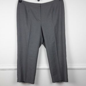 NWOT KASPER PLUS SIZE KATE CLASSIC FIT TROUSERS